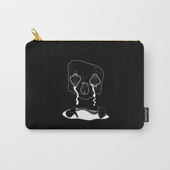 Death Head Sex Head - Bouncing Baby Boy Carry-All Pouch