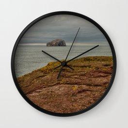 Bass Rock Wall Clock