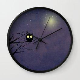 Night Owl ~~ Wall Clock