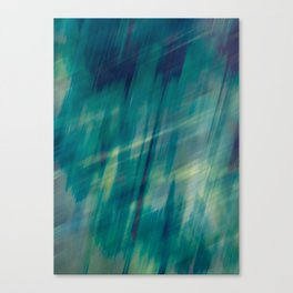 Submerge Aqua Canvas Print