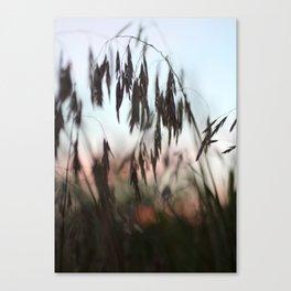 We Walked at Dusk Canvas Print