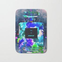 Perfume Dark Grunge Bath Mat