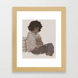 smol fitz Framed Art Print