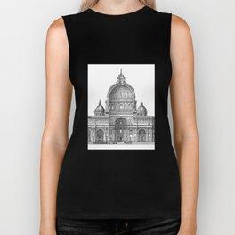 St. Peter Basilica - Rome, Italy Biker Tank