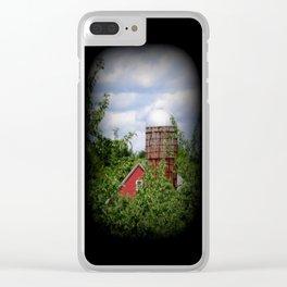 Farm Life Clear iPhone Case