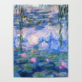 Water Lilies Monet Poster