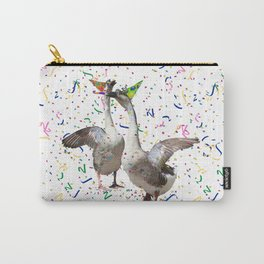 Partying Geese Carry-All Pouch