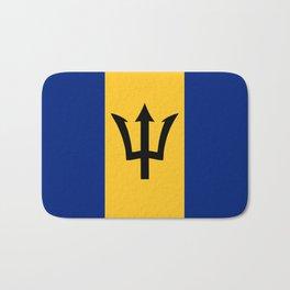 Barbados country flag Bath Mat