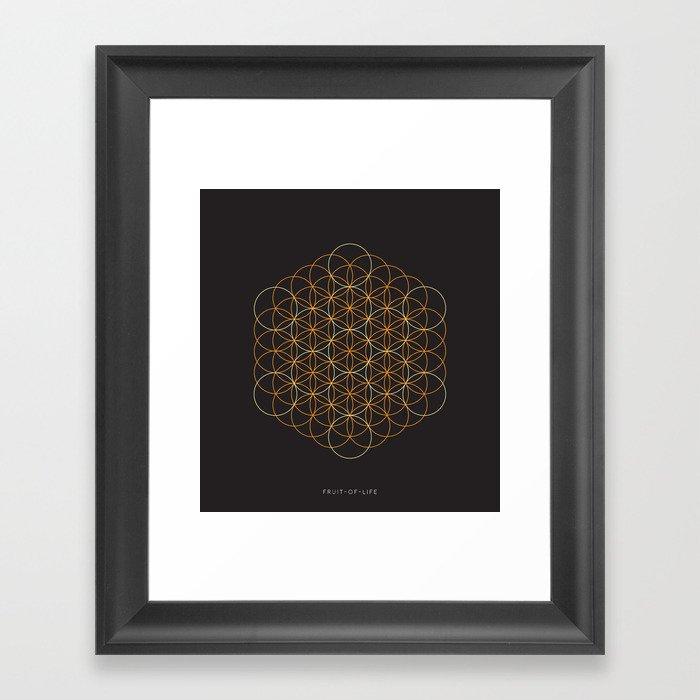 Fruit-of-Life Framed Art Print