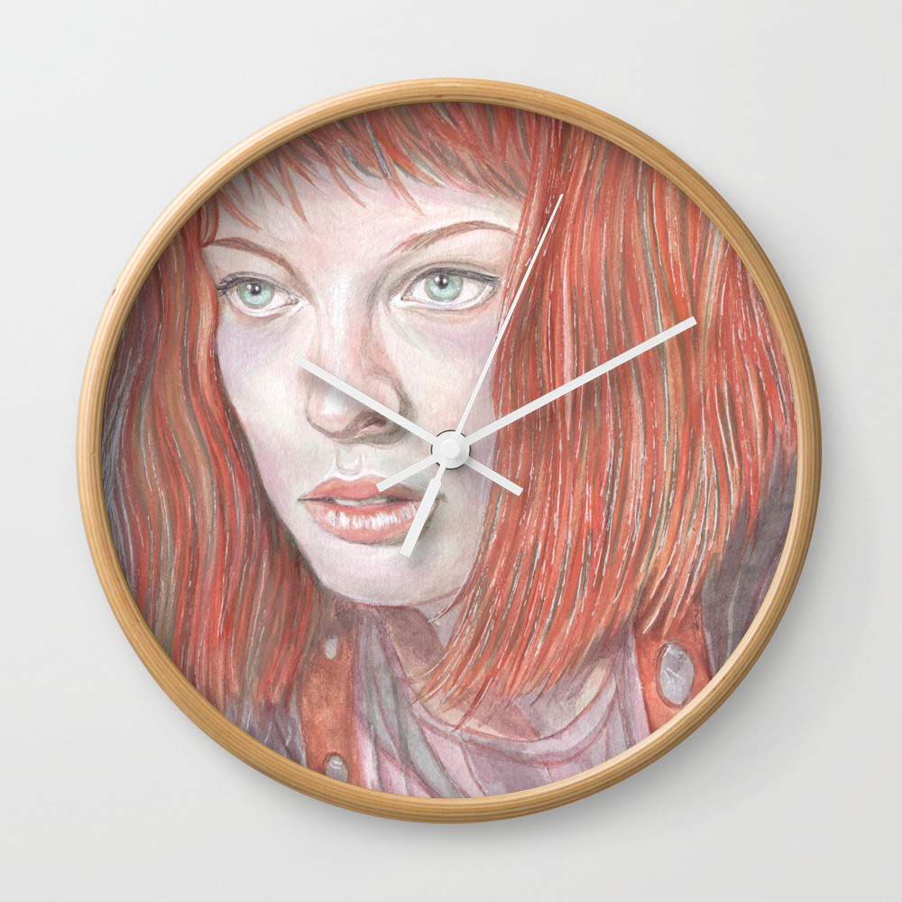 Leeloo - The Fifth Element Wall Clock by Breakthemouldb3 CLK8817740