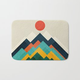 The hills are alive Bath Mat