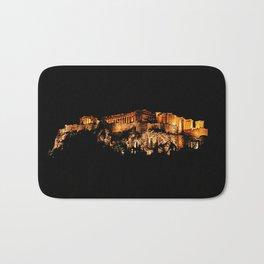 Acropolis Night View Bath Mat