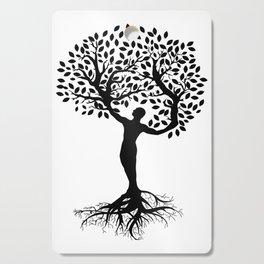 human tree Cutting Board