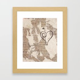 Lasting Love Framed Art Print