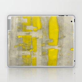 Stasis Gray & Gold 4 Laptop & iPad Skin