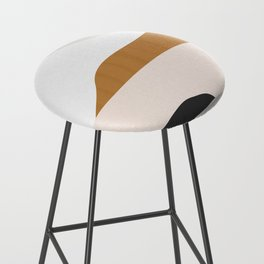 Minimal Art Landscape 2 Bar Stool