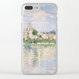 Vetheuil in Summer 1880 by Claude Monet Clear iPhone Case