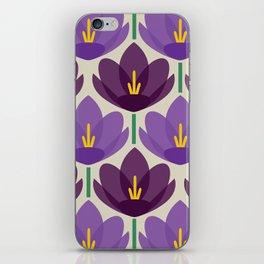 Crocus Flower iPhone Skin
