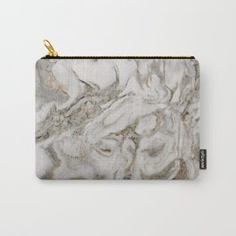 Crema marble Carry-All Pouch