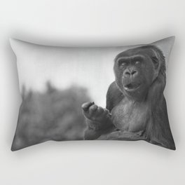 Asante The Western Lowland Gorilla Rectangular Pillow