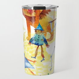 YELLOW BRICK GANG Travel Mug