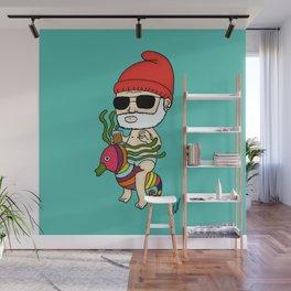 Zissou Crayon Ponyfish Wall Mural
