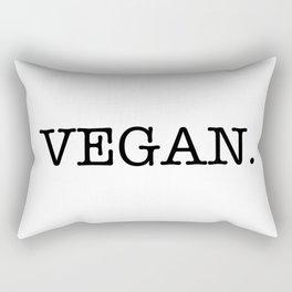 VEGAN. Rectangular Pillow