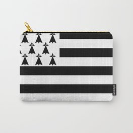 Flag of brittany Carry-All Pouch