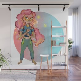 Fighting Doll Wall Mural
