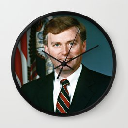 Portrait of DoD Mr. J. Danforth Quayle, Vice President of the United States Wall Clock