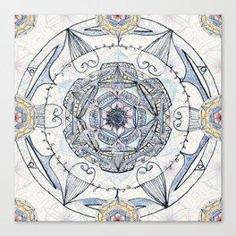 Mandy's Mandala Canvas Print