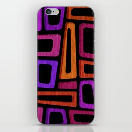 Palm Springs Nights - Modern Tiki iPhone Skin