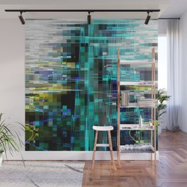 Electrified Shimmer Wall Mural