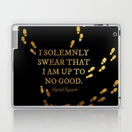 I Solemnly Swear Laptop & iPad Skin