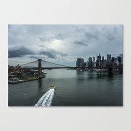 That's New York To Me Canvas Print