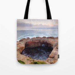 Devils Punchbowl Tote Bag