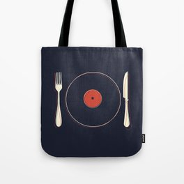 Vinyl Food Tote Bag