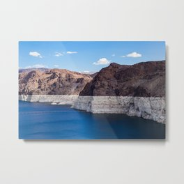 Hoover Dam II / Lake Mead Metal Print