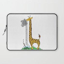 Long Long Giraffe Bong Laptop Sleeve