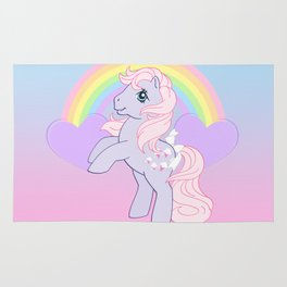 g1 my little pony lickety split Rug