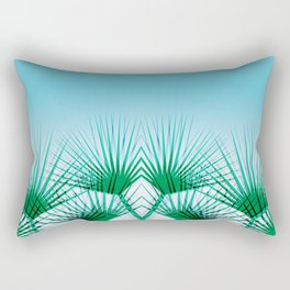 Airhead - memphis throwback retro vintage ombre blue palm springs socal california dreamer pop art Rectangular Pillow