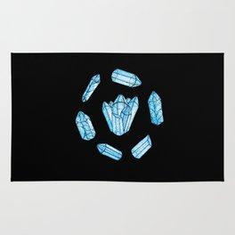 Blue Crystals Rug