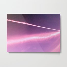 Blotchiness in sky Metal Print