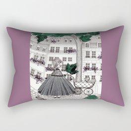 Hadessah's Leaf Rectangular Pillow