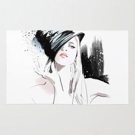 Fashion Painting #5 Rug