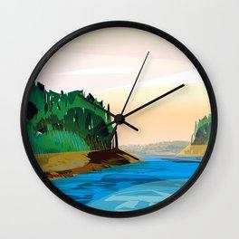 Angel Island Wall Clock