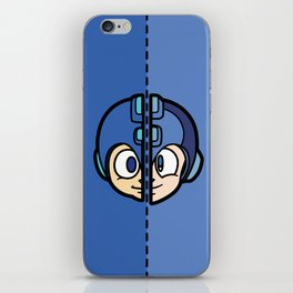 Old & New MegaMan iPhone Skin
