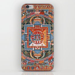 Mandala of Jnanadakini iPhone Skin