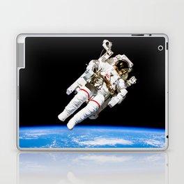 Astronaut Bruce McCandless Floating Free Laptop & iPad Skin
