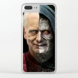 Palpatine&Sidious Clear iPhone Case